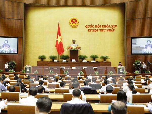 越南第十四届国会第一次会议发表第四号公报 hinh anh 1