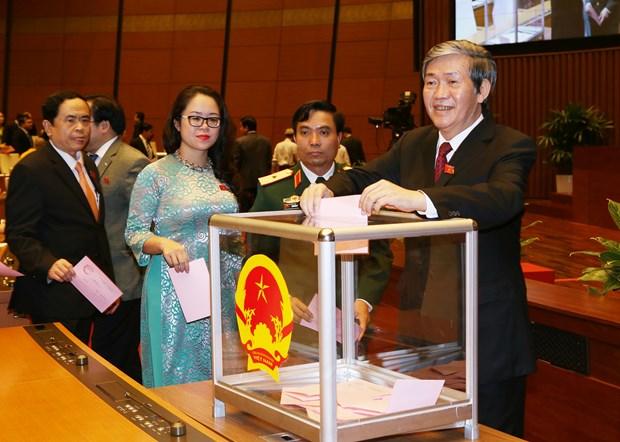 越南第十四届国会第一次会议发表第五号公报 hinh anh 1