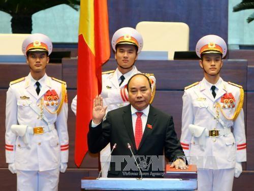 越南第十四届国会一次会议:阮春福总理的讲话彰显政府的决心 hinh anh 1