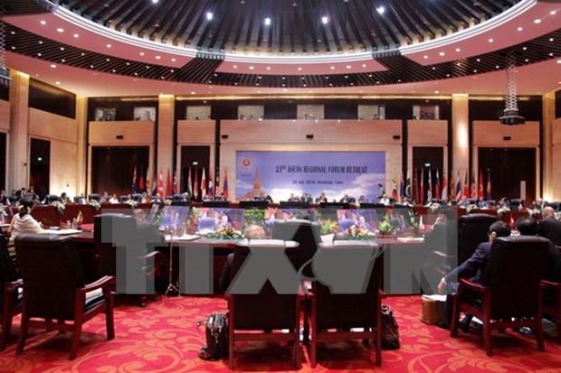 第23届东盟地区论坛外长会发表关于加强海上执法力量合作等的声明 hinh anh 1