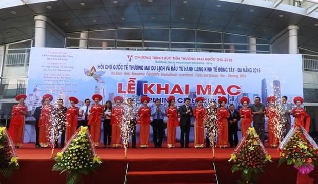 2016年东西经济走廊岘港投资贸易和旅游国际博览会开幕 hinh anh 1