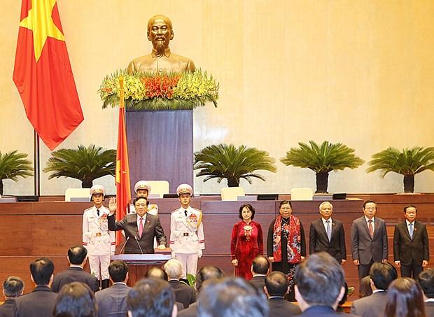 越南第十四届国会第一次会议发表第六号公报 hinh anh 1