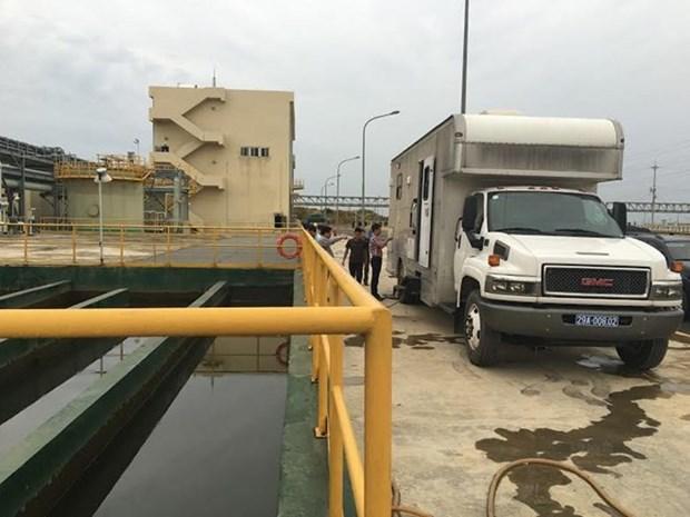 设在河静钢铁兴业责任有限公司的环境监测站正式投入运行 hinh anh 1