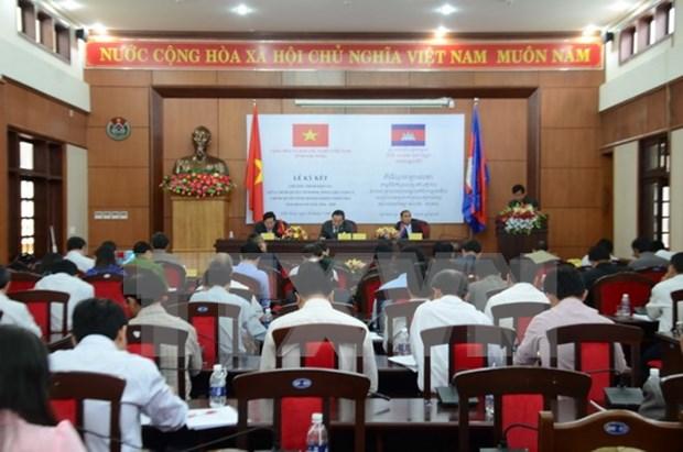 越南得农省与柬埔寨蒙多基里省大力推进全面合作关系 hinh anh 1