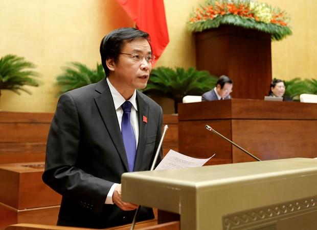 越南第十四届国会第一次会议发表第七号公报 hinh anh 1