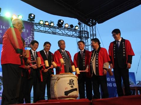 2016年越日文化交流活动在岘港市举行 hinh anh 1