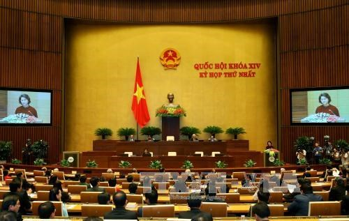 越南第十四届国会第一次会议发表第八号公报 hinh anh 1
