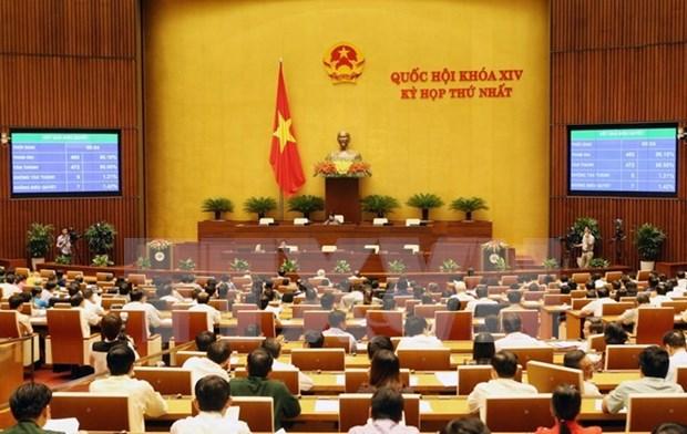 全国选民对十四届国会一次会议讨论的重要内容充满信心 hinh anh 1