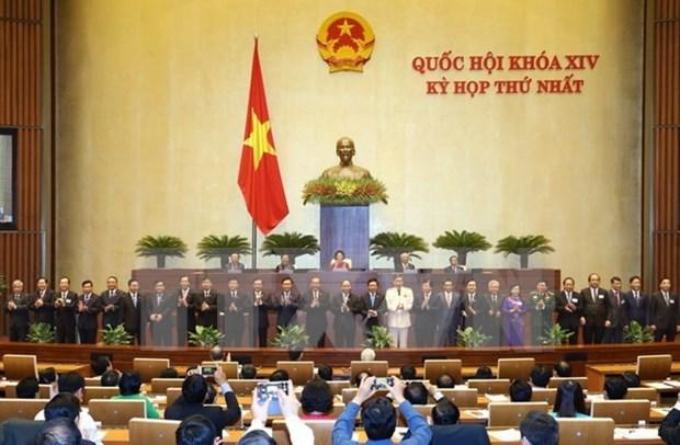 第十四届国会第一次会议完成新发展阶段的使命 hinh anh 1