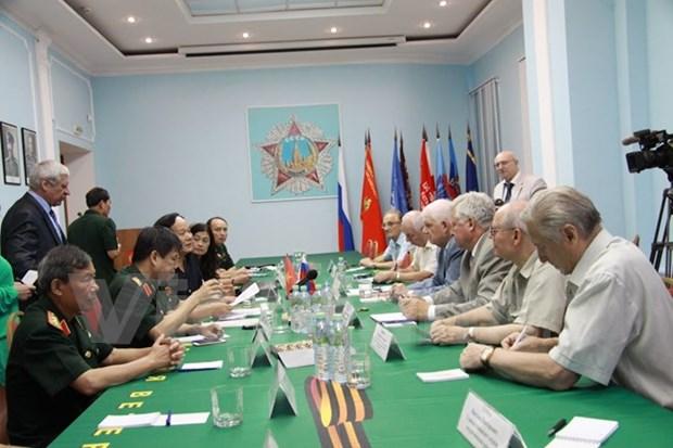 越南退伍军人协会代表团对俄罗斯进行工作访问 hinh anh 1