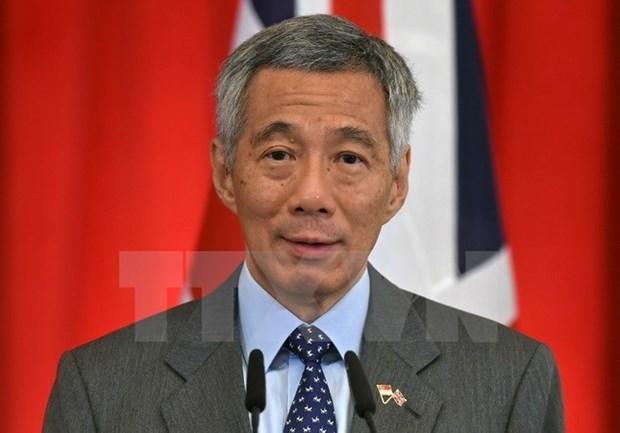 新加坡总理李显龙对美国进行为期一周的正式访问 hinh anh 1
