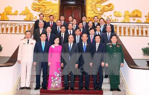 阮春福总理主持召开政府7月例行会议 hinh anh 1