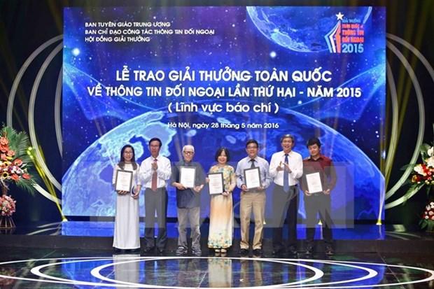 法国记者兼导演的电视新闻作品荣获2015年第二届越南全国对外新闻奖 hinh anh 1