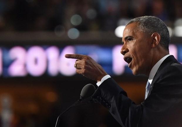 美国总统奥巴马:荷兰海牙仲裁庭的裁决应得到尊重 hinh anh 1