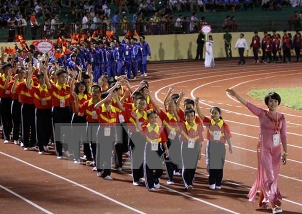 2016年越南全国扶董运动会盛大开幕 hinh anh 1