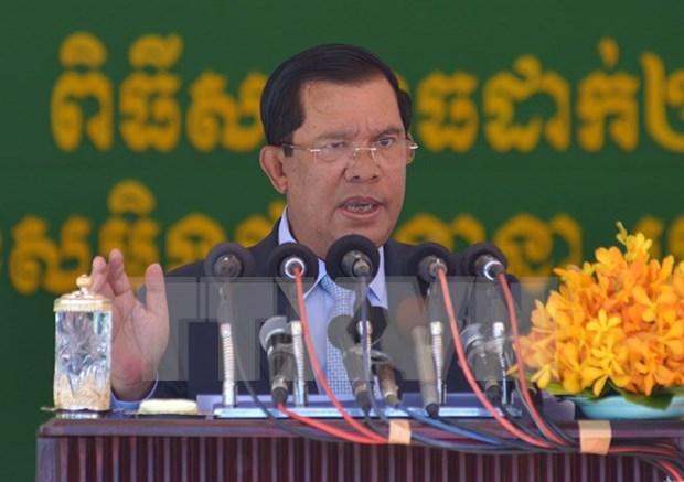柬埔寨反对党救国党主席桑兰西指控洪森涉嫌肯雷枪杀案 洪森以此为由提起诉讼 hinh anh 1
