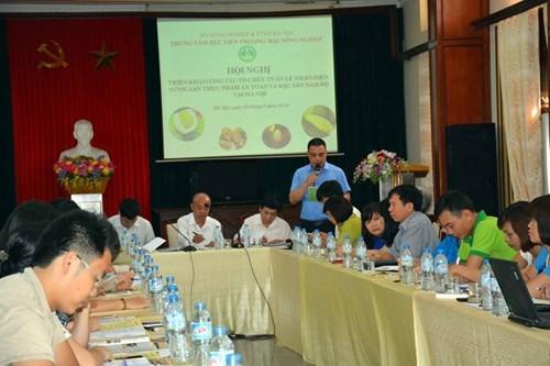 南部特产与安全食品农产辨别宣传周将于8月中旬在河内市举行 hinh anh 1
