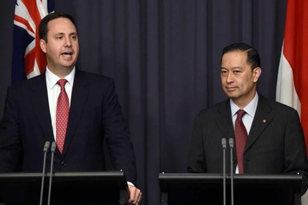 澳大利亚和印尼面力争尽早结束全面经济伙伴协定谈判进程 hinh anh 1