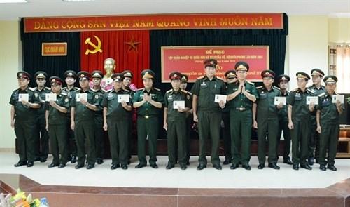 老挝军队军需干部培训班举行结业典礼 hinh anh 1