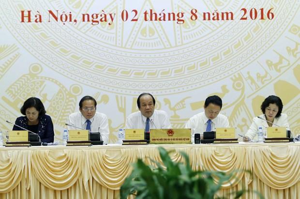 越南政府7月份例行新闻发布会讨论许多热点问题 hinh anh 1