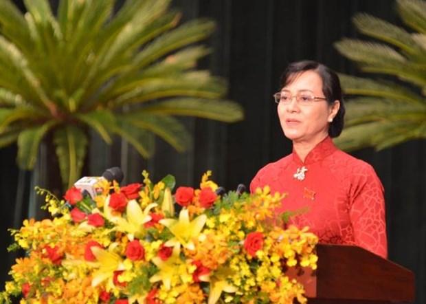 2016-2020年阶段胡志明市力争实现地区生产总值年均增长8-8.5%的目标 hinh anh 2