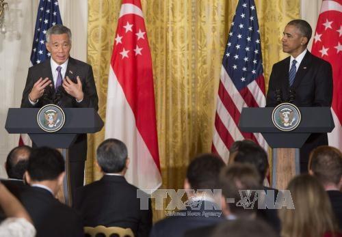 新加坡总理李显龙敦促美国尽早批准TPP hinh anh 2