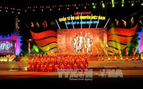 第6届越南传统武术国际节在平定省开幕 hinh anh 3