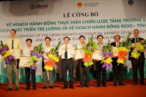 美国国际开发署将协助清化省落实绿色增长目标 hinh anh 1