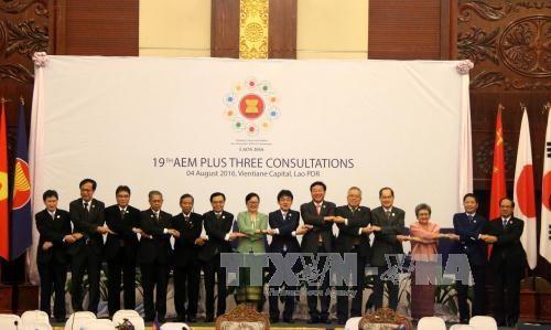 东盟与中日韩投资经贸关系可持续发展 hinh anh 1