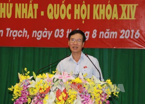 越南党和国家领导走进基层倾听选民意见建议 hinh anh 1