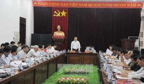 越南国会副主席冯国显莅临莱州省调研 hinh anh 1