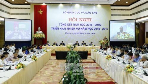 阮春福总理:需把教育视为促进国家可持续发展的头等大事 hinh anh 1