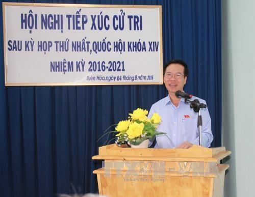 选民相信第十四届国会将成为行动国会 hinh anh 2