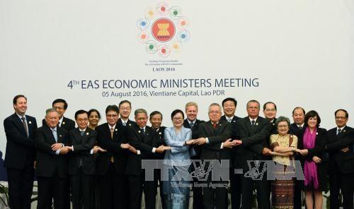 东亚各国努力加快区域经济一体化进程 hinh anh 1