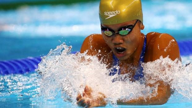 2016年里约奥运会:越南游泳选手阮氏映圆无缘女子400米混合泳决赛 hinh anh 1
