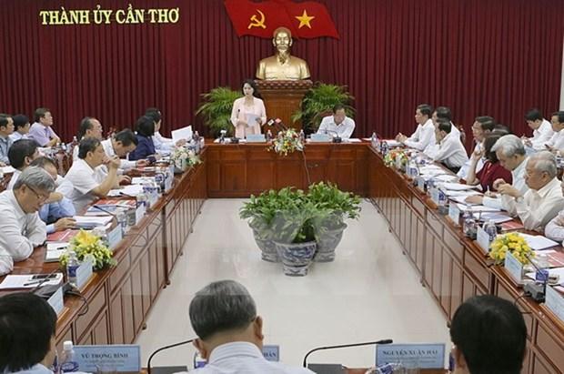 国会主席阮氏金银:将芹苴市建设成为九龙江三角洲地区的发展动力 hinh anh 1