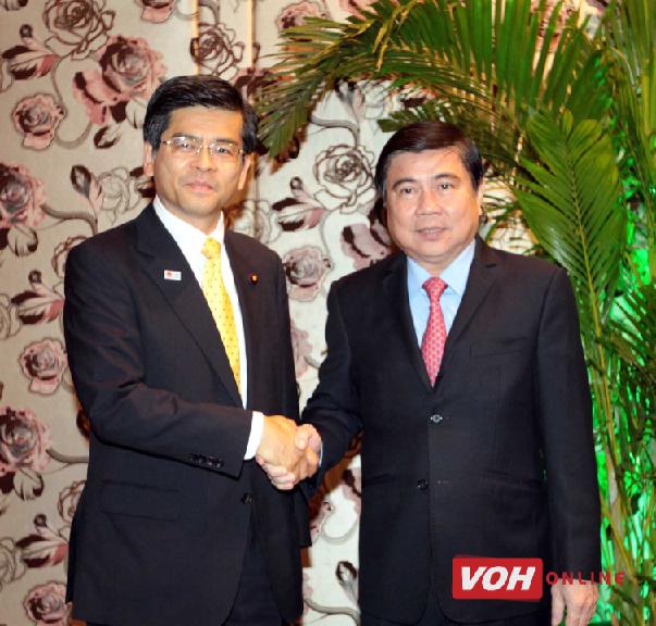 胡志明市希望日本援助促进基础设施建设 hinh anh 1
