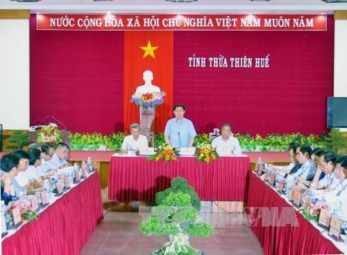 政府副总理王廷惠:承天顺化省需要改变旅游发展思维 hinh anh 1