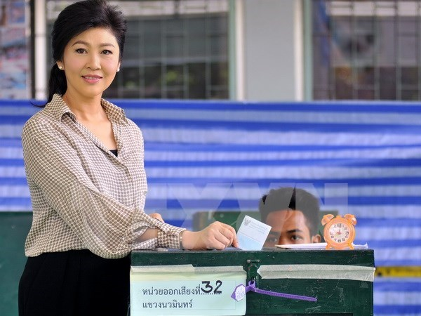 泰国新宪法草案获得多数选民的支持 hinh anh 1