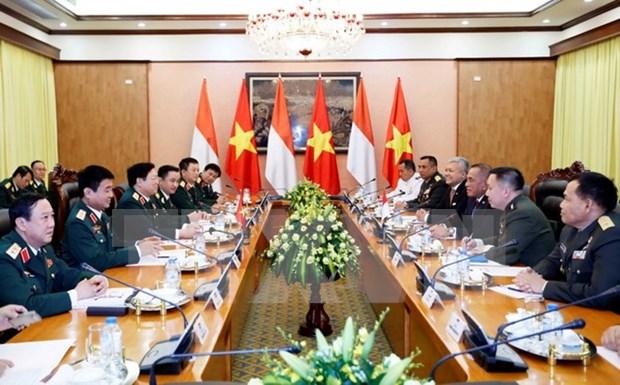 越南与印尼加强防务合作 hinh anh 1