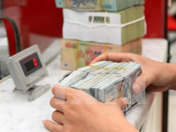 越盾兑美元中心汇率上涨5越盾 hinh anh 1