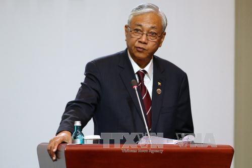 缅甸承诺为东盟的发展加大合作力度 hinh anh 1