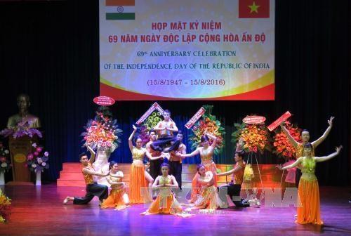 印度共和国独立日69周年纪念典礼在越南胡志明市举行 hinh anh 1