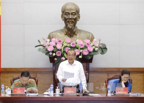 张和平副总理:加强网络安全保障 加大对高科技罪犯打击力度 hinh anh 2