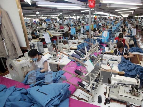 越南纺织业难以达成2016年出口目标 hinh anh 1