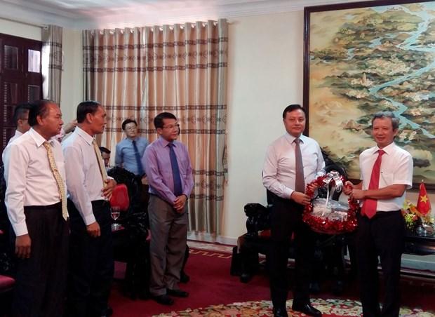 越南承天顺化省与老挝沙湾拿吉省加强合作 hinh anh 1