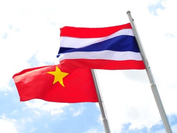 泰国前副总理兼外长陈裕财:越泰两国是好邻居和好朋友 hinh anh 1