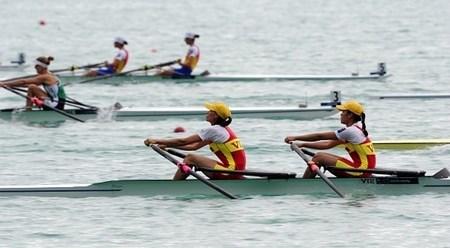 越南组合谢清玄/胡氏理晋级里约奥运女子轻量级双人双桨半决赛 hinh anh 1