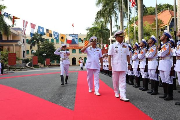越南与马来西亚海军加强合作 hinh anh 1