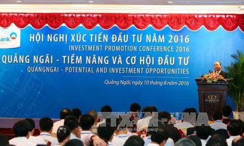 阮春福总理:广义省应在投资促进过程提高竞争力 hinh anh 1